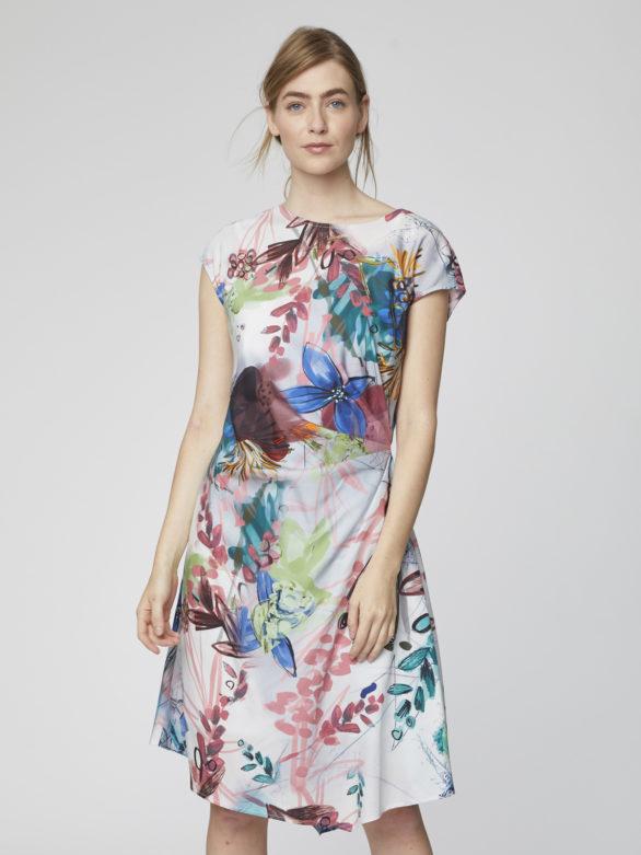 Tencelové šaty Solar Flower