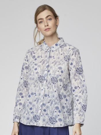 Košile z bio bavlny Francoise