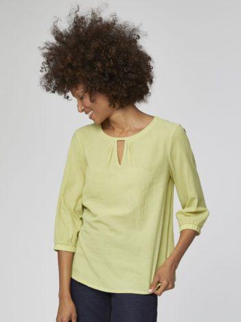 zelena bluza bio bavlna eileen thought 1.jpg