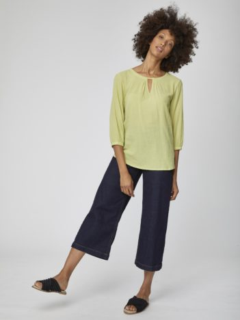 zelena bluza bio bavlna eileen thought 3.jpg