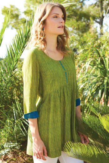 Tunika Twig zelená