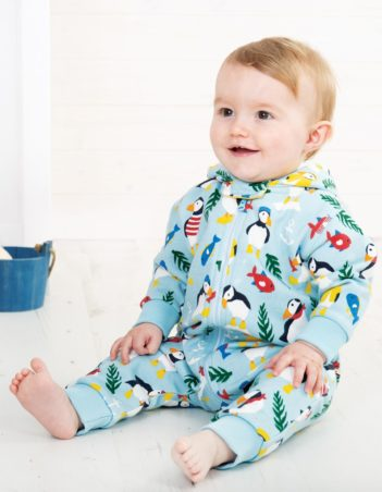Overal Paddling Puffins Frugi
