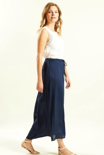 Dlouhá sukně modrá
