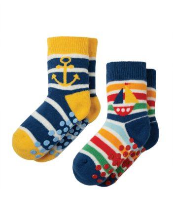 Protiskluzové ponožky Boat dvojbalení