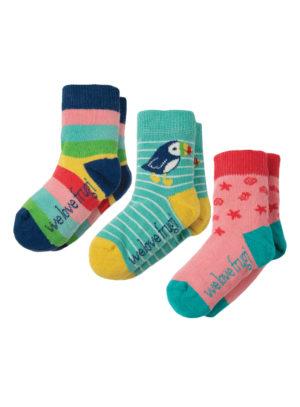Ponožky Rainbow trojbalení frugi