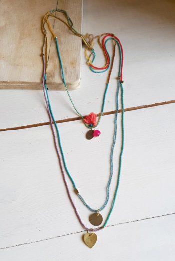 Náhrdelník Three Thread