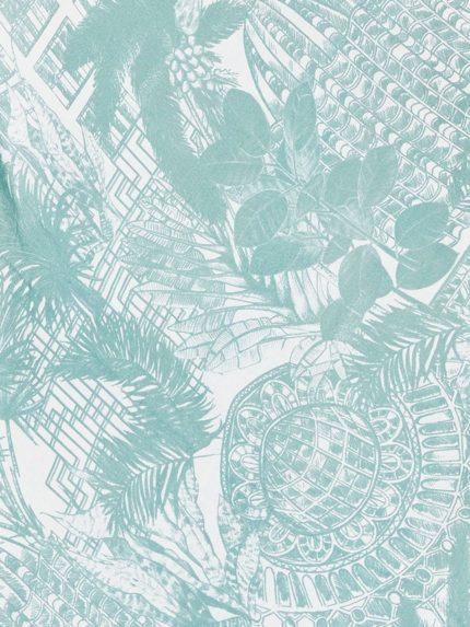 Bambusový šátek Palm House zelený