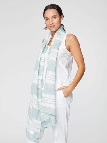Konopný šátek Varandero zelený