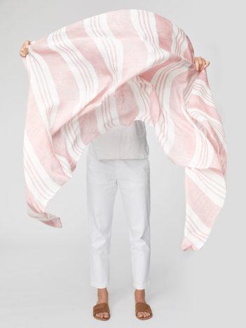 Konopný šátek Varadero červený