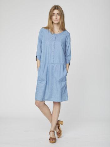 Šaty z bio bavlny Samara