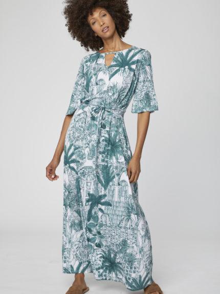 Bambusové maxi šaty Palm House