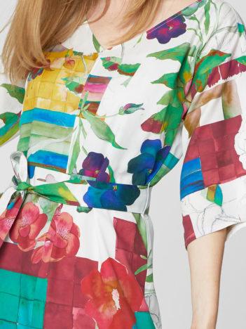Tencelové maxi šaty Dominika