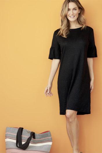 Lněné šaty Giovanna