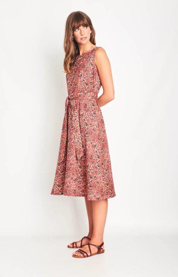 Šaty Grace malinové