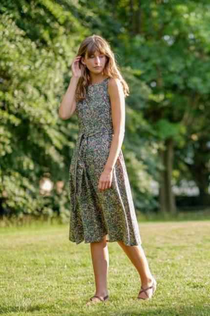 Šaty Grace olivové