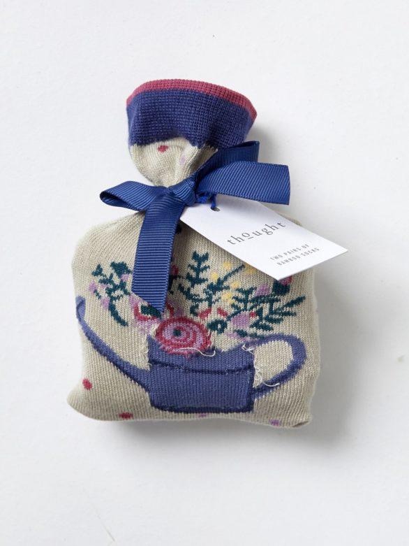 Ponožky v dárkovém balení Spotty Bouquet