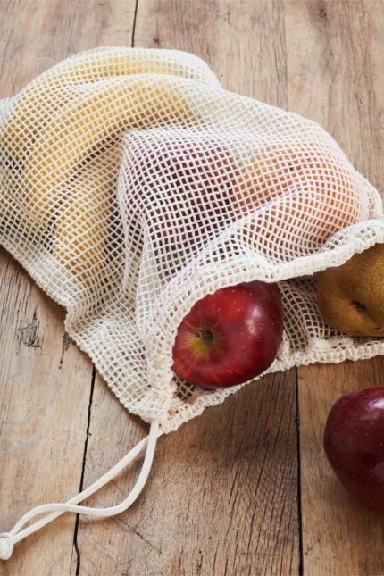 Pytlíky na zeleninu a ovoce z bio bavlny