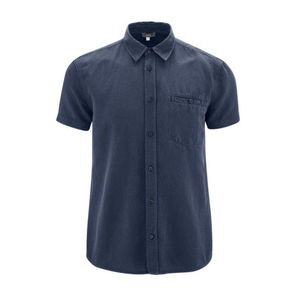 Lněné košile George modrá