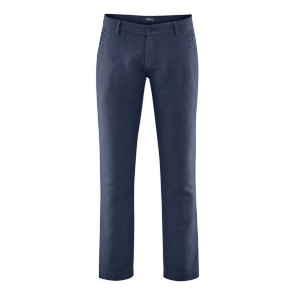 Lněné kalhoty Gilbert šedé