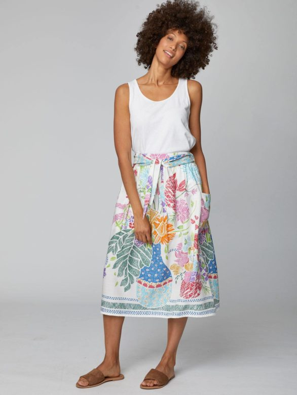 Tencelová sukně Vases