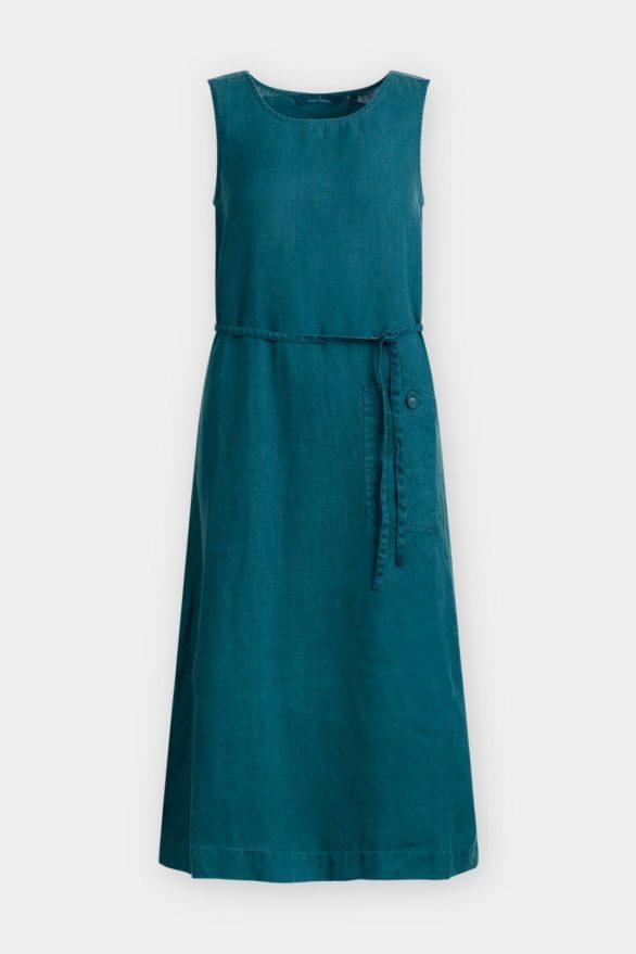 Lněné šaty Sketch Pad