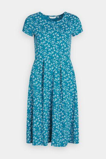 Šaty z bio bavlny Riviera Seaweed
