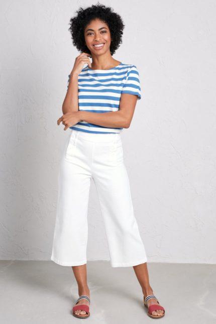 Tričko z bio bavlny Sailor světle modré