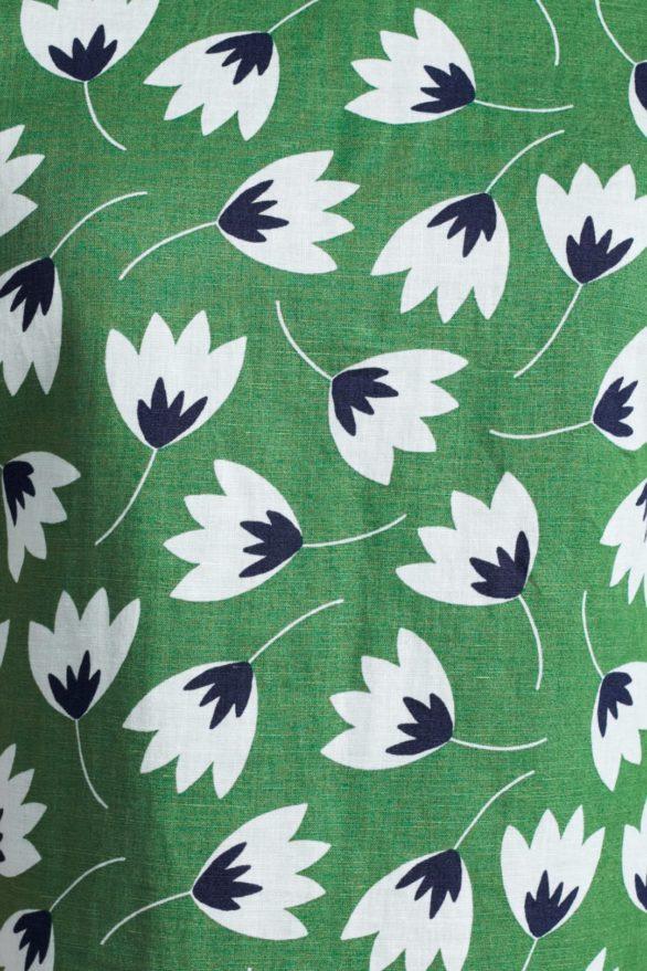 Lněné šaty River Cove Tulip