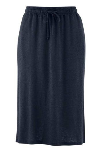 Lněná sukně Georgia modrá