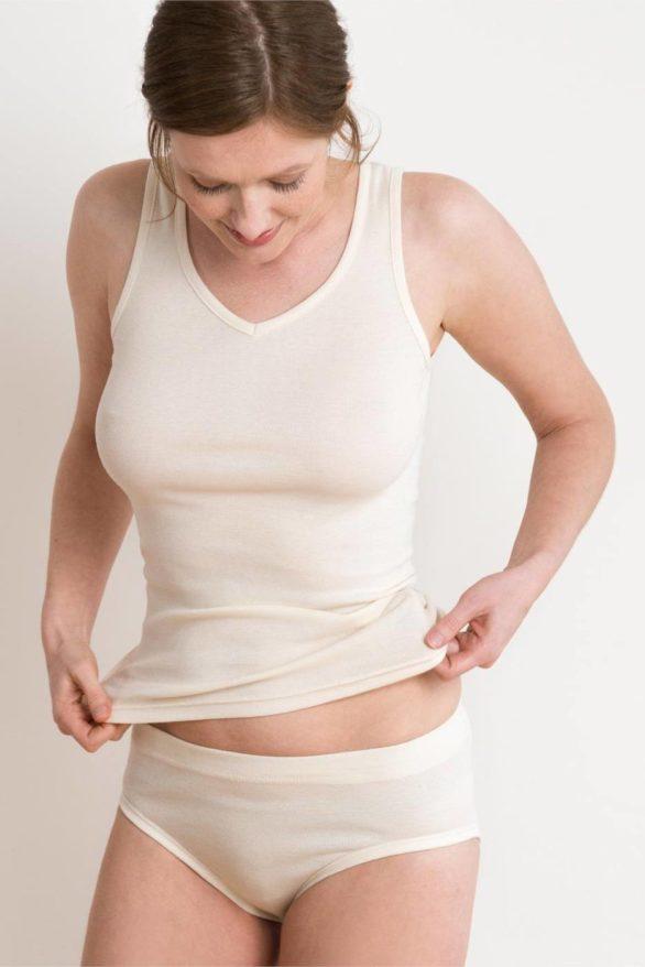 Kalhotky z bio bavlny přírodní