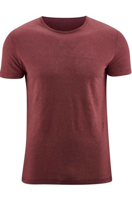 Lněné tričko Andy červené