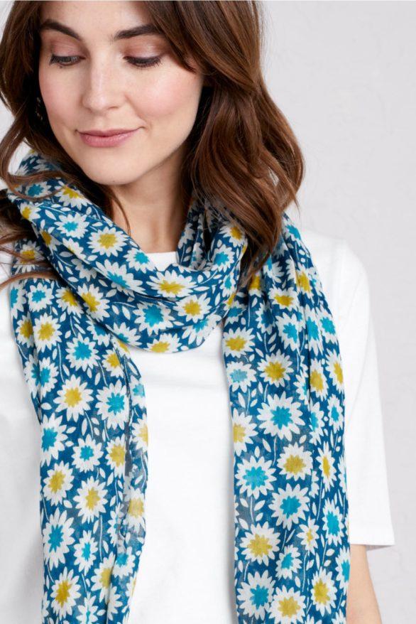 Letní šátek s modalem