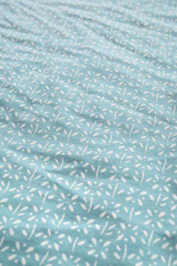 Seasalt Cornwall kruhový šátek z bio bavlny little flower