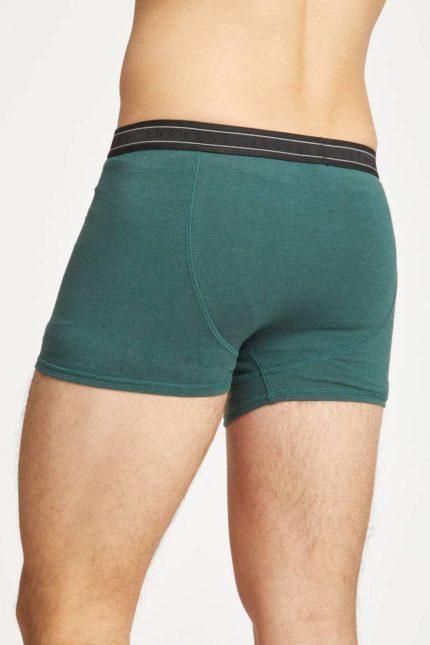 Thought bambusové boxerky arthur zelené