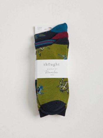 Thought trojbalení pánských ponožek zoology