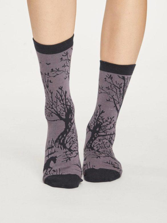 Thought trojbalení dámských ponožek enchanted forest