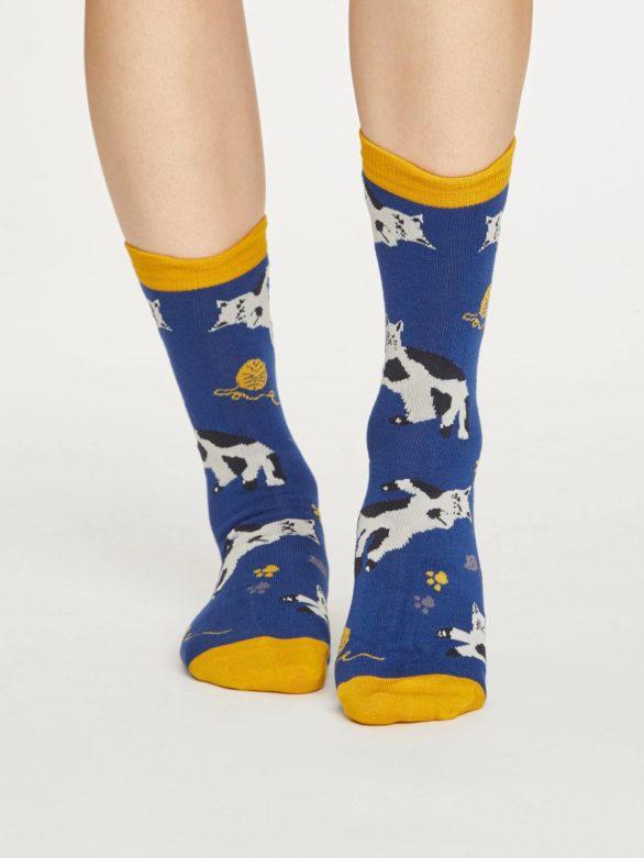 Thought dvojbalení dámských ponožek kitty