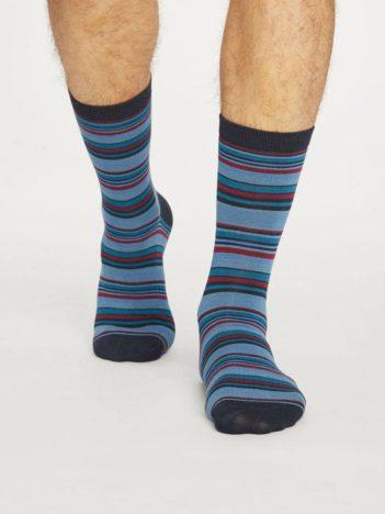 Thought bambusové ponožky kennet tmavě modré