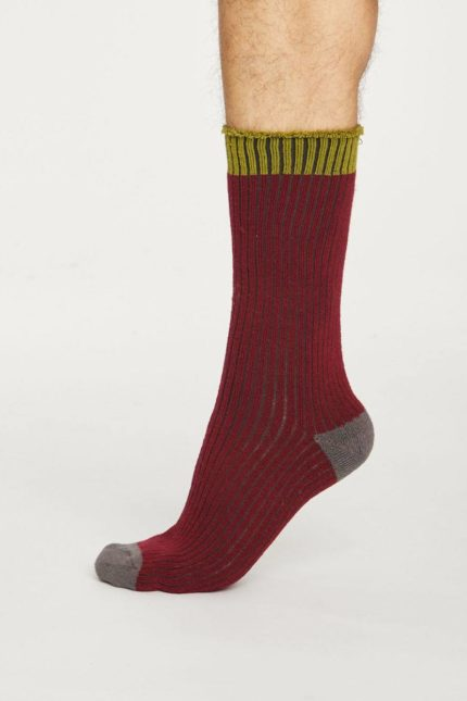 Thought ponožky walker červené