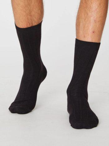 Thought konopné ponožky hero černé