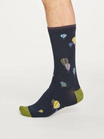 Thought bambusové ponožky explorer tmavě modré