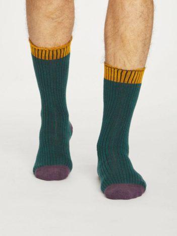 Thought ponožky walker zelené