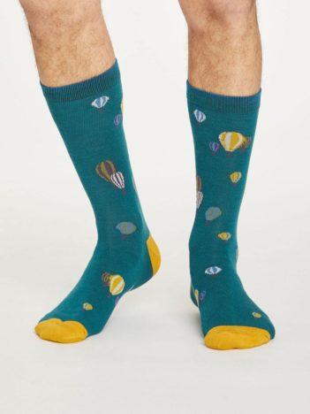 Thought bambusové ponožky explorer zelené