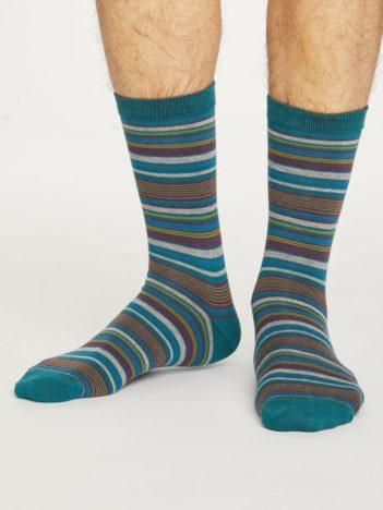 Thought bambusové ponožky kennet zelené