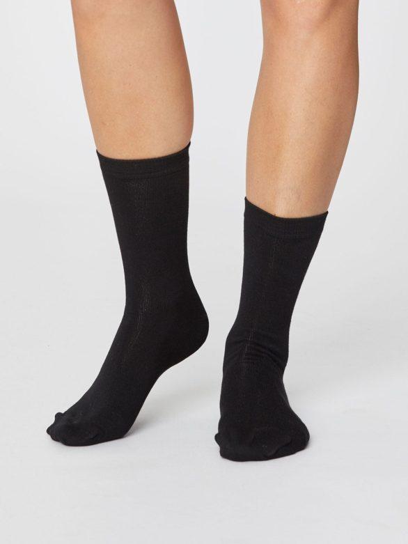 Thought bambusové ponožky jackie černé
