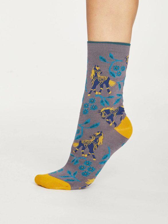 Thought bambusové ponožky filly tmavě šedé
