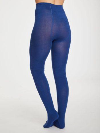 Thought bambusové punčocháče elgin modré