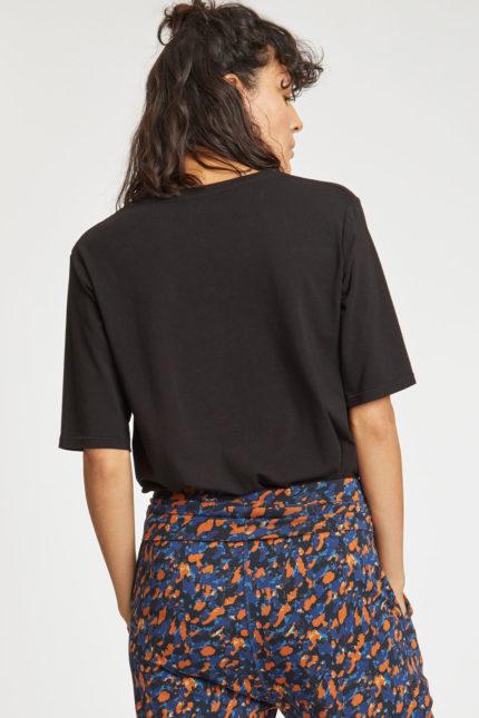 Thought bambusové tričko černé