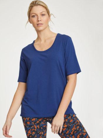 Thought bambusové tričko modré