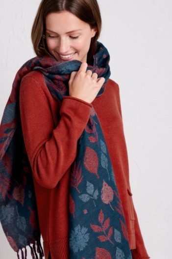 Nomads vlněný šátek awakening leaves